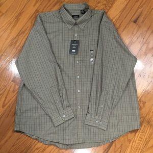Van Heusen Long Sleeve Wrinkle Free Shirt XXL NWT
